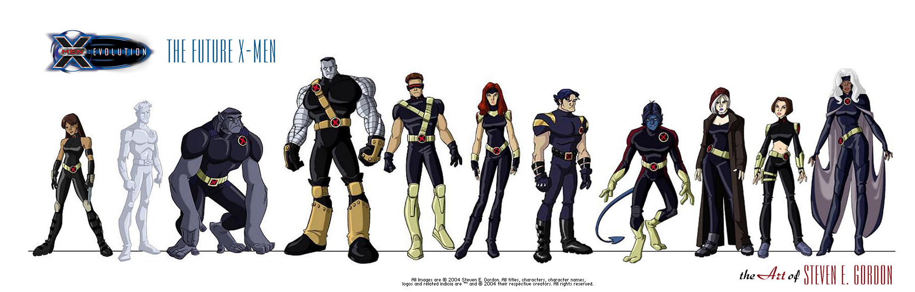X Men Evolution Characters Profiles The gallery for -->...